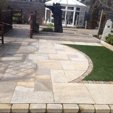Example of Patio Paving