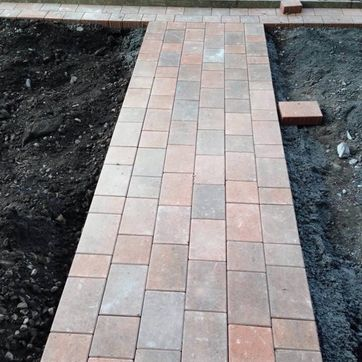 Block paving examples